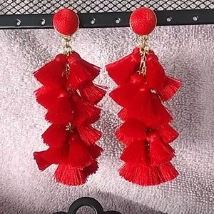 Fun Red Earrings